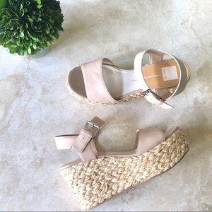 Dolce Vita platform wedge sandals espadrille Sz 10